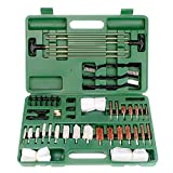 LINGSFIRE Kit de Limpieza de Pistola Universal para Pistola Amplio Set de Limpieza para Armas, Accesorios para el Cuidado y la Limpieza de Armas de Calibre, Bolsa de Rango Portátil Compacta con Latón