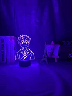 Tatapai 3D Lighting Creative Car Night Light 7 Color Remote Control Gift Toy Bedroom Decoration Bedside Light 7 Color Touc...