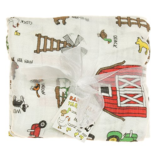 Barnyard Friends Blanket