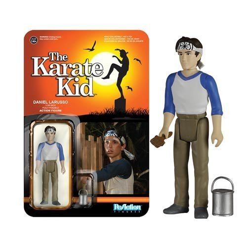 Karate Kid Daniel Larusso ReAction 3 3/4-Inch Retro Action Figure by Funko