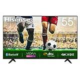 Hisense Uhd TV 2020 55A7100F - Smart TV Resolución 4K, Precision Colour, Escalado Uhd con Ia, Ultra Dimming, Audio Dts Studio Sound, Vidaa U 4.0, Compatible Alexa