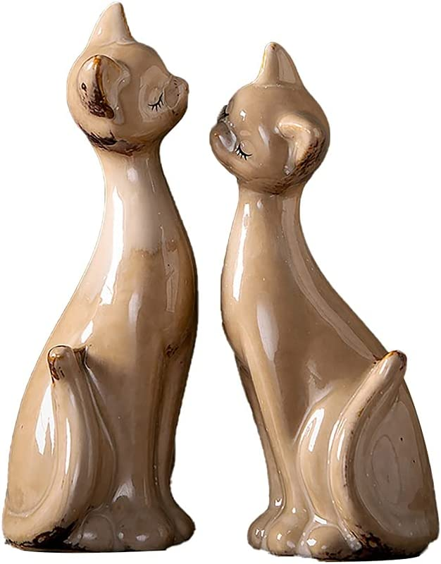 All items in the Save money store ZRJ Ornements Ceramics Sculpture Statue Art Cat Collec