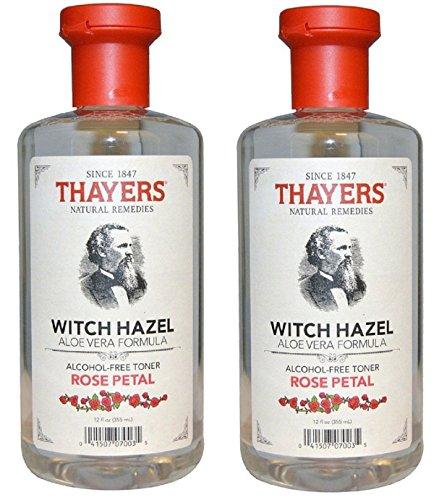 Thayers - Rose Petal Witch Hazel with Aloe Vera Alcohol-Free...
