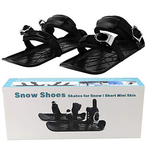 Skiboard para La Nieve Mini Zapatos De Esquí Duraderos Ajustables Que Cubren...