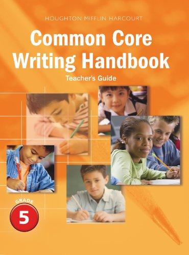 Journeys Writing Handbook Teachers Guide Grade 5
