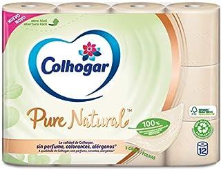 Colhogar Papel Higiénico Pure Natural 12 Rollos