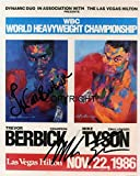 Limited Edition Mike Tyson signiert Foto Autogramm