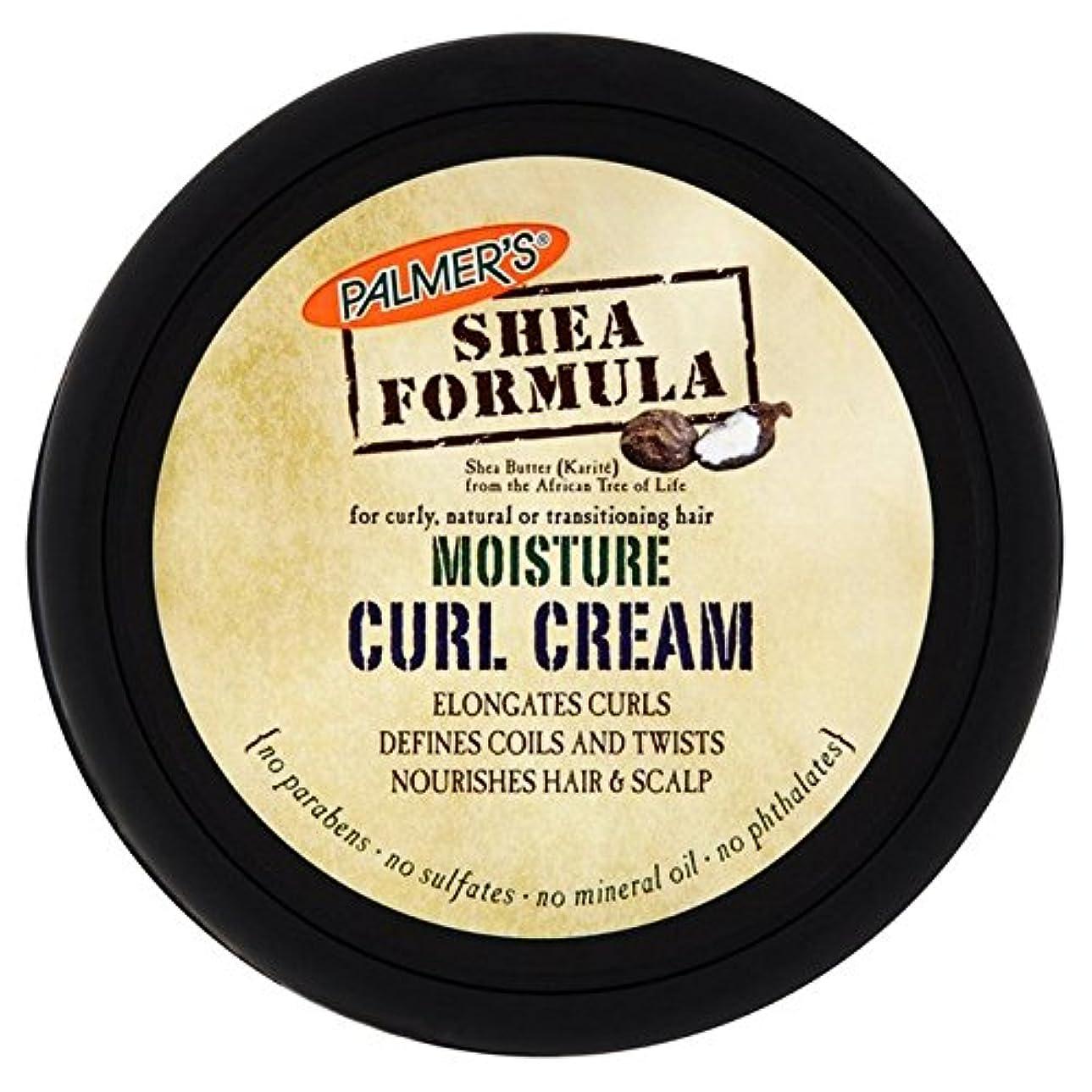コードシンジケート物質パーマーのシア式水分カールクリーム237ミリリットル x2 - Palmer's Shea Formula Moisture Curl Cream 237ml (Pack of 2) [並行輸入品]