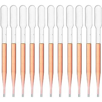 Sterile Large Bulb Sponix BioRx Transfer Plastic Pipettes 7 mL Capacity 12 pcs Graduated to 3 mL
