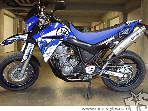 Yamaha XT 660 R (2004-14) Premium Factory DEKOR Decals Sticker Aufkleber KIT