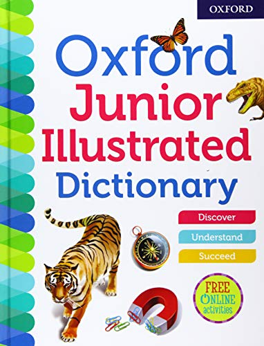 Oxford Junior Illustrated Dictionary (Oxford Dictionaries) ✅