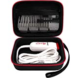 Case compatible with Wahl Professional Peanut Classic Clipper/Trimmer #8685, 8655-200, 8081, 8035 and Attachment Clippers Comb Blade Accessories- Box Only