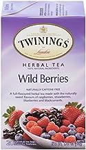Twinings of London Wild Berries Herbal Tea, 20 Count (Pack of 6)