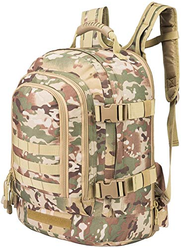 ACOMOO Expandable Backpack 39L-64L Large Tactical Bug Out Bag Wth Waist Strap Ocp