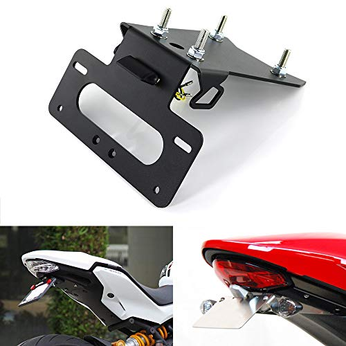 For HONDA CBR500R // CB500F 2016 2017 2018 2019 2020 With LED License Plate Light Xitomer CBR500R Fender Eliminator//Tail Tidy Compatible with OEM//Stock Turn Signal