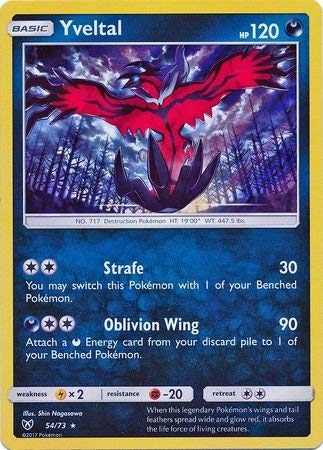Pokémon - Yveltal - 54/73 - Tedesco - Holo - Shining Legends