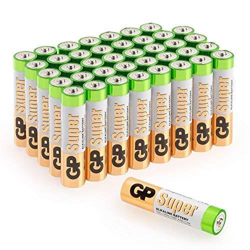 GP Batterien AAA Micro Super Alkaline Vorratspack 40 Stück in praktischer