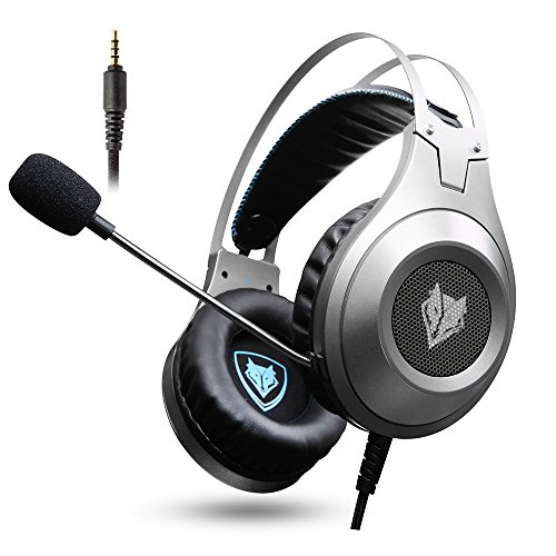 NUBWO N2 Gaming Headset for Xbox One PS4 Playstation 4, Headphones Computer PC Mic Stereo Gamer Microphone for Skype Xbox one s Xbox 1 x Nintendo Switch Games