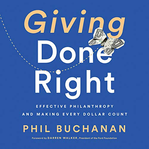 Giving Done Right audiobook cover art