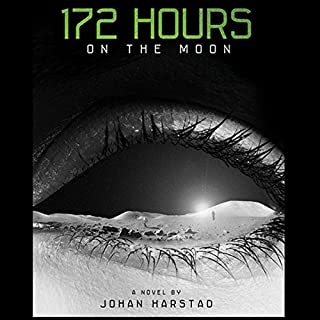 172 Hours on the Moon audiobook cover art