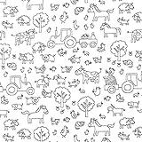 Ausmalstoff Baumwollpopeline Bauernhof | PETIT CITRON –