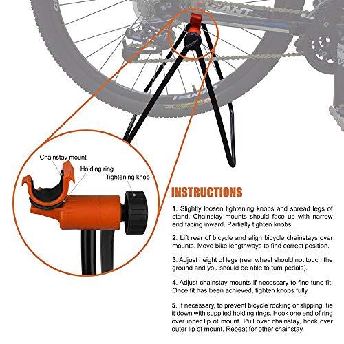 Ibera Fahrrad-Aufbewahrung, Ausstellungsständer Fahrradständer, einfaches Utility Stand - 5