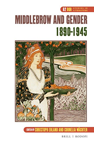 Middlebrow and Gender, 1890-1945 (Dqr Studies in Literature)