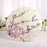 Paraguas de mujer, papel de aceite chino, paraguas de baile, sombrilla, decoración para fiestas, paraguas-A-China-myjk