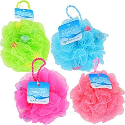 April Bath & Shower Mesh Bath Sponges, 5. Bath Sponge by April Bath & Shower