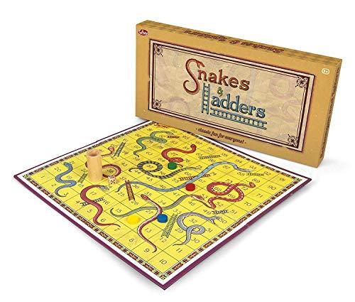 Tobar Schlangen und Leitern traditionelles Brettspiel