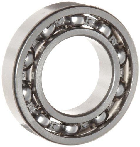 WJB 6238 Deep Groove Ball Bearing, Open, Metric, 190mm ID, 340mm OD, 55mm Width, 57500lbf Dynamic Load Capacity, 63500lbf Static Load Capacity