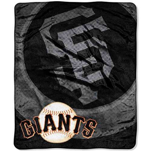 "MLB San Francisco Giants ""Retro"" Raschel Throw Blanket, 50"" x 60"""
