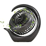 KARECEL Battery Operated Fan, Rechargeable Fan 3 Speeds Small Desk Portable Fan, Long Life Battery &...