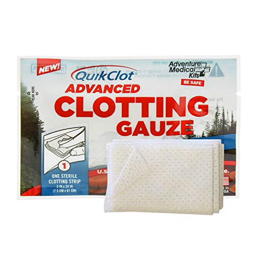 QuikClot Advanced Clotting Gauze - 3 x 24 in (2 Strips)