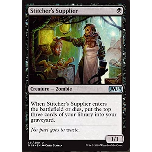 Magic The Gathering - Stitcher's Supplier - Rifornitrice dei Cucitori - Core Set 2019