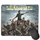 Walking Dead Horror Zombies Mousepad Mouse Pad Mouse Mat Office Gaming Laptop Pc Mouse Mat for Game Room 9.8 X 11.8 Inch