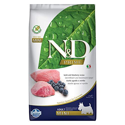 Farmina, N&D, Adult, Mini, Lamm und Heidelbeere 2.5 kg