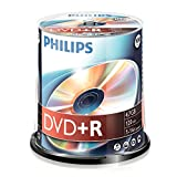 Philips DR4S6B00F - DVD+R x 100 - 4.7 GB