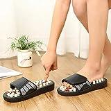 Zapatillas Casa Chanclas Sandalias Zapatos Zapatillas De Masaje Unisex Sandalia para Hombre Pies Pie Giratorio Mujer -White_43