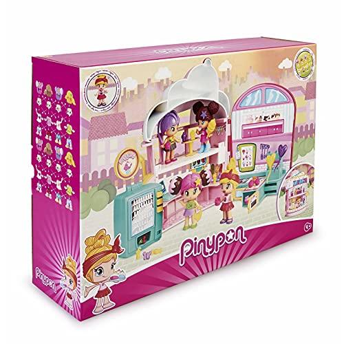 Pinypon-700015880 Pastelería, muñeca tienda dulces juguete, color mixto...