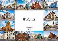 Wolgast Impressionen (Wandkalender 2022 DIN A4 quer): Zwoelf einmalig wunderschoene Bilder der Stadt Wolgast (Monatskalender, 14 Seiten )