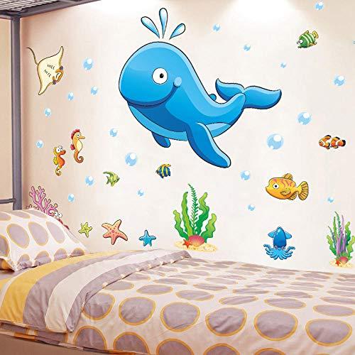 Pegatinas de pared estéreo 3d pegatinas de niña decoración de la pared de la habitación de los niños dibujos animados-Buscando a Nemo_Big