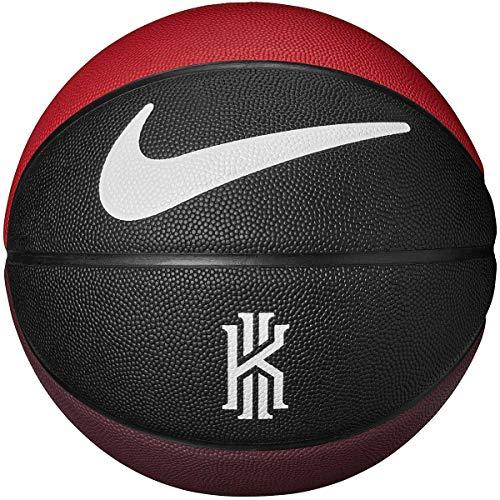 Nike Kyrie Crossover - Balón de Baloncesto Unisex para Adultos, Color Negro, Rojo Universitario, Amarillo y Blanco, 7