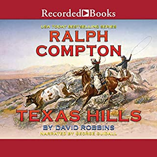 Texas Hills audiobook cover art
