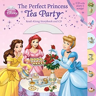 The Perfect Princess Tea Party Read-Along Storybook and CD by Richards, Kitty (March 20, 2012) Board book