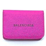 (バレンシアガ)BALENCIAGA 593813 キャッシュ ミニ エヴリデイ コンパクトウォレット 財布 三つ折り財布(小銭入れあり) レザー レディース 未使用 中古