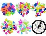 Bicicleta Habló Decoración Niños Bicicleta Diversión Colorido Habló Adornos Accesorios Cuentas de Radio Colorido Decoracion de Bicicleta de Dia de Plastico 170pcs