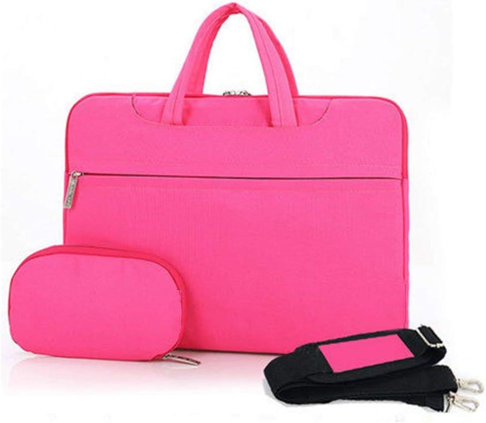 Laptop Slim Bag for 13 13.3 ASUS Acer Chromebook 13 inch, Stripe Pink Messenger Bag for MacBook Pro 2018 2017 2016// Pro with Retina//Surface Laptop 2017 //Book Cunliwaa Laptop Shoulder Bag