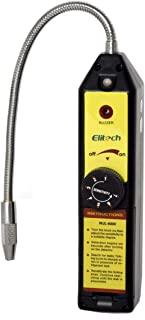 Elitech WJL-6000 Freon Leak Detector Halogen Leak Detector Refrigerant Gas Leakage Tester HVAC Air Condition R22 R410A R134A CFCs HCFCs HFCs Detects High Accuracy