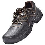 Zapatos de Seguridad para Hombres, S3, Zapatos con Punta de...